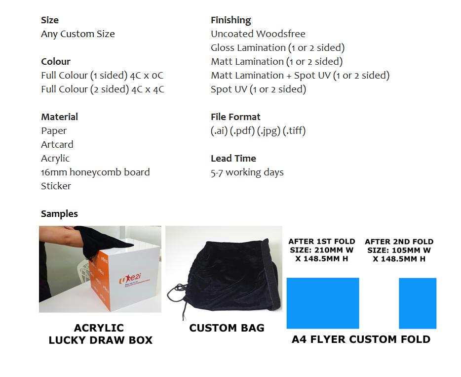Custom print Iken Design