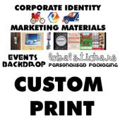 Custom Print (Marketing Material)
